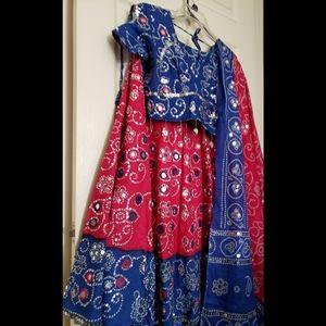 Indian wedding lehenga garba dress chaniya choli